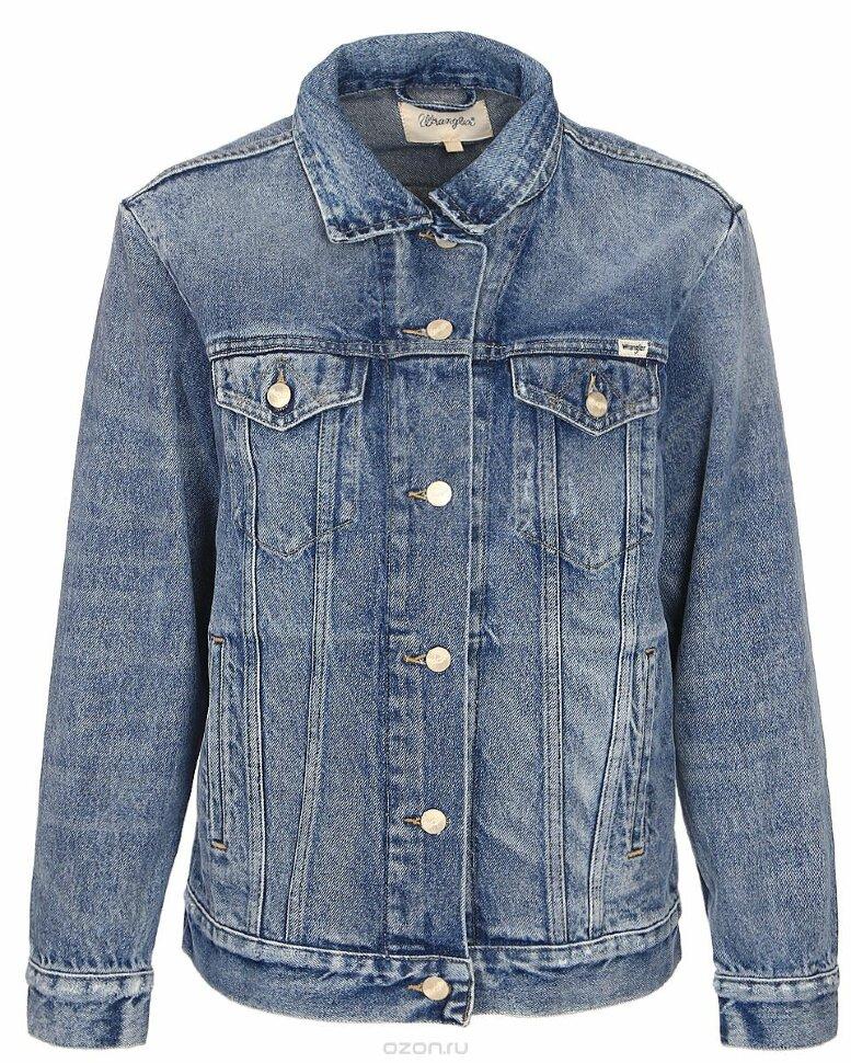 6254639e787 Джинсовая куртка женская Wrangler W4070599E